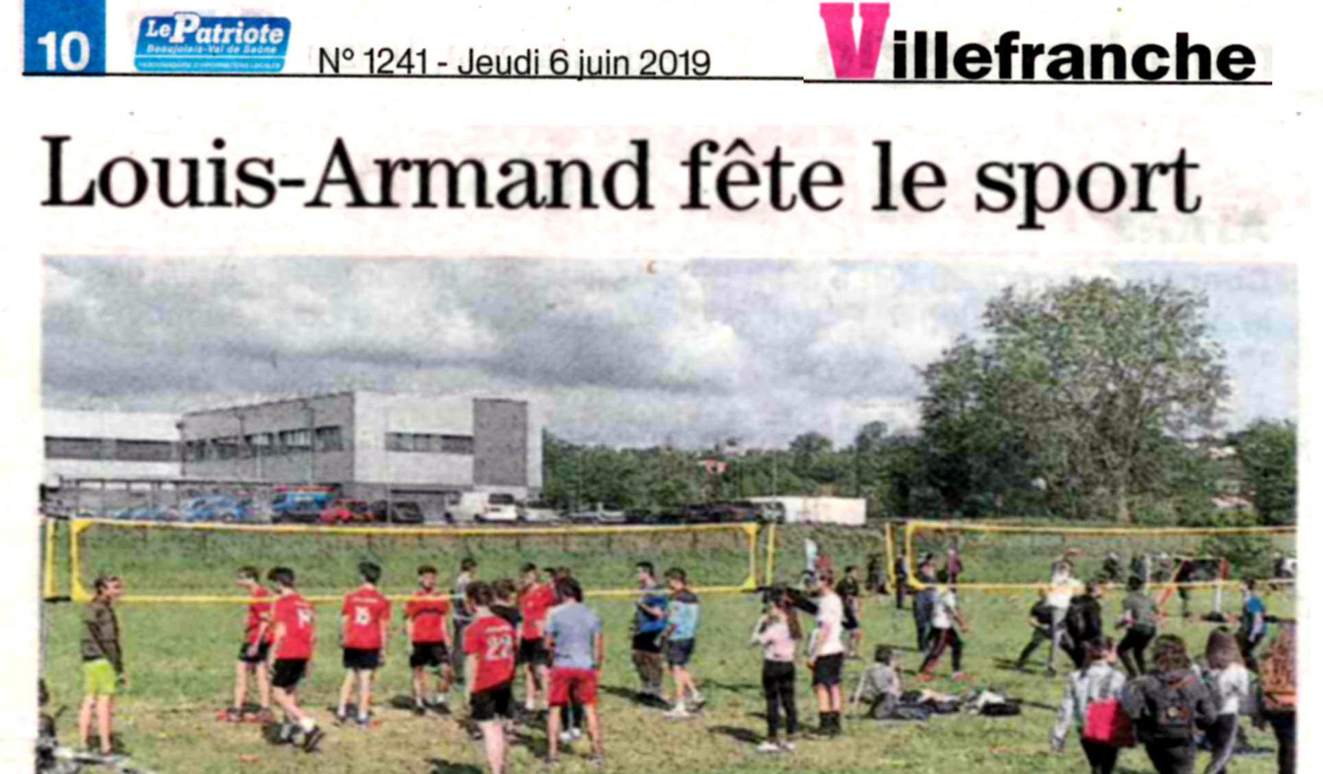Article Patriote 20190606 Fete du sport.jpg