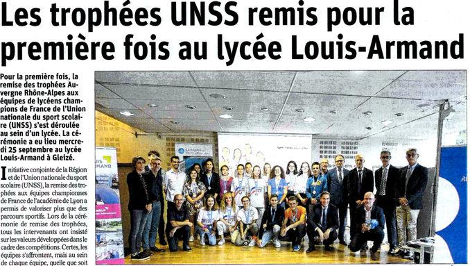 Article Progrès 20190927 - Trophées UNSS.jpg